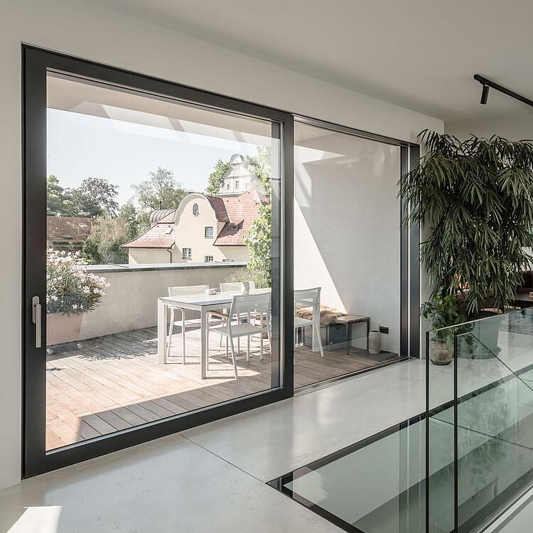 Actual Fenster Turen Ganzglas Design Sonnenschutz